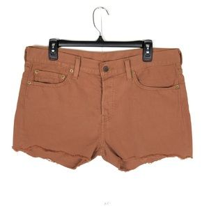 LEVIS 501 BUTTON FLY CUT OFF SHORTS (30)